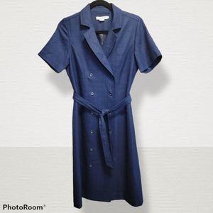 Pendleton🌸navy dress, size 6